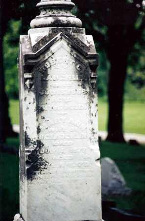 SPILLER LAUGHLIN, MARY ANN - Shelby County, Ohio | MARY ANN SPILLER LAUGHLIN - Ohio Gravestone Photos
