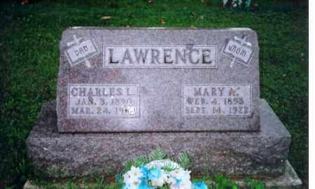 LAWRENCE, CHARLES L - Shelby County, Ohio | CHARLES L LAWRENCE - Ohio Gravestone Photos