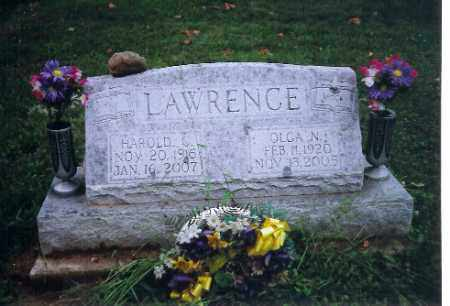 LAWRENCE, OLGA N. - Shelby County, Ohio | OLGA N. LAWRENCE - Ohio Gravestone Photos