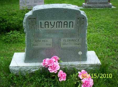 LAYMAN, FLORANCE - Shelby County, Ohio | FLORANCE LAYMAN - Ohio Gravestone Photos