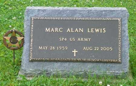 LEWIS, MARC ALAN - Shelby County, Ohio   MARC ALAN LEWIS - Ohio Gravestone Photos