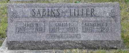 SABINS LILLER, CALLIE L. - Shelby County, Ohio | CALLIE L. SABINS LILLER - Ohio Gravestone Photos