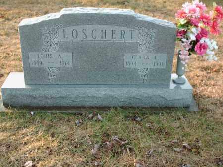 LOSCHERT, CLARA E - Shelby County, Ohio | CLARA E LOSCHERT - Ohio Gravestone Photos