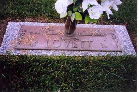 LOVETT, T.LOWELL - Shelby County, Ohio | T.LOWELL LOVETT - Ohio Gravestone Photos