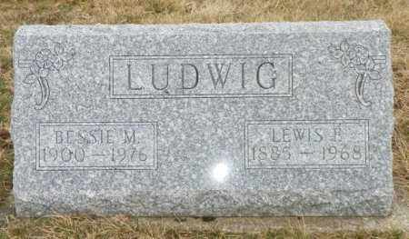 LUDWIG, BESSIE M. - Shelby County, Ohio | BESSIE M. LUDWIG - Ohio Gravestone Photos