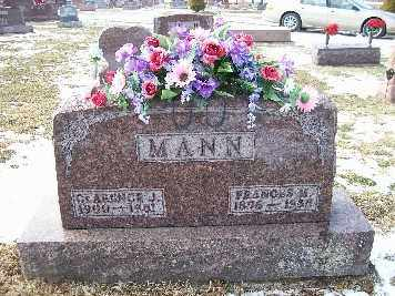 MANN, CLARENCE T - Shelby County, Ohio | CLARENCE T MANN - Ohio Gravestone Photos