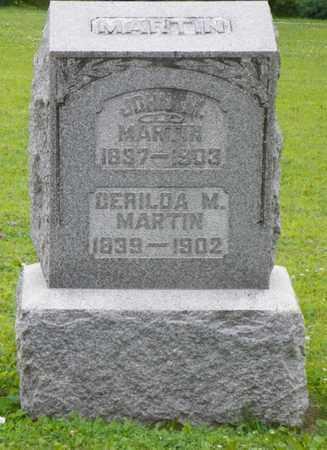 MARTIN, JOHN M. - Shelby County, Ohio | JOHN M. MARTIN - Ohio Gravestone Photos