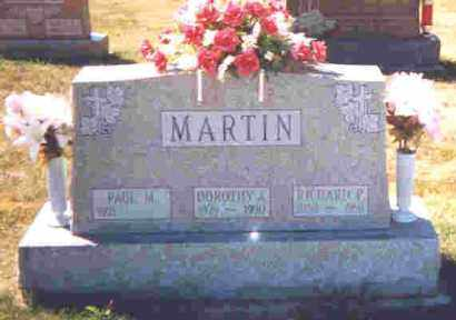 MARTIN, DOROTHY A. - Shelby County, Ohio | DOROTHY A. MARTIN - Ohio Gravestone Photos