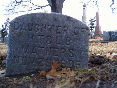 MATHERS, DAUGHTER - Shelby County, Ohio | DAUGHTER MATHERS - Ohio Gravestone Photos