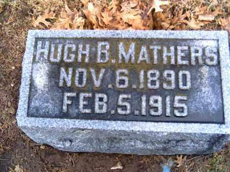 MATHERS, HUGH B. - Shelby County, Ohio   HUGH B. MATHERS - Ohio Gravestone Photos