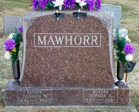 MAWHORR, JOSEPH W. - Shelby County, Ohio | JOSEPH W. MAWHORR - Ohio Gravestone Photos