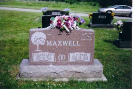 MAXWELL, T. MARGARET - Shelby County, Ohio | T. MARGARET MAXWELL - Ohio Gravestone Photos