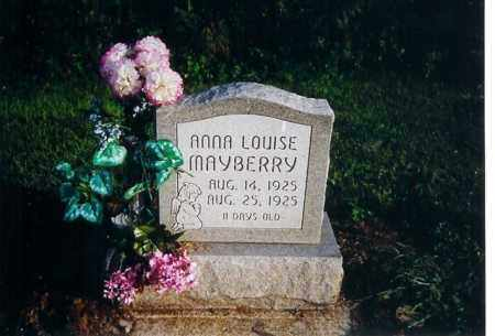 MAYBERRY, ANNA LOUISE - Shelby County, Ohio | ANNA LOUISE MAYBERRY - Ohio Gravestone Photos