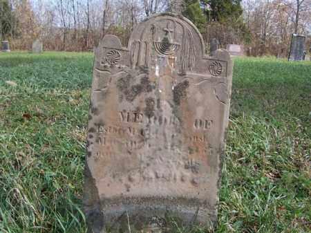 MCCLURE, ESTHER - Shelby County, Ohio | ESTHER MCCLURE - Ohio Gravestone Photos