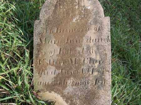 MCCLURE, MARY JANE - Shelby County, Ohio | MARY JANE MCCLURE - Ohio Gravestone Photos