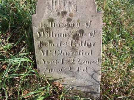 MCCLURE, WILLIAM - Shelby County, Ohio | WILLIAM MCCLURE - Ohio Gravestone Photos