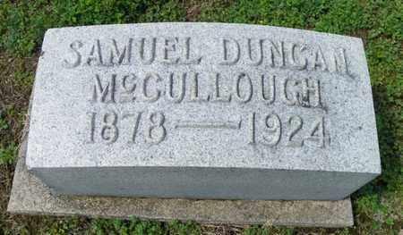 MCCULLOUGH, SAMUEL DUNCAN - Shelby County, Ohio   SAMUEL DUNCAN MCCULLOUGH - Ohio Gravestone Photos