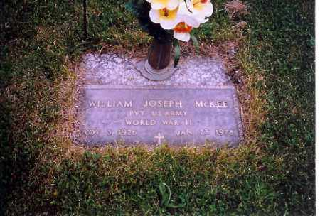MCKEE, WILLIAM JOESPH - Shelby County, Ohio | WILLIAM JOESPH MCKEE - Ohio Gravestone Photos