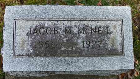 MCNEIL, JACOB M. - Shelby County, Ohio | JACOB M. MCNEIL - Ohio Gravestone Photos