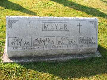 MEYER, MARY L. - Shelby County, Ohio | MARY L. MEYER - Ohio Gravestone Photos