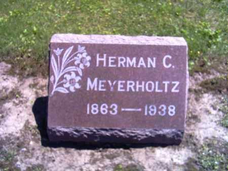 MEYERHOLTZ, HERMAN C. - Shelby County, Ohio   HERMAN C. MEYERHOLTZ - Ohio Gravestone Photos