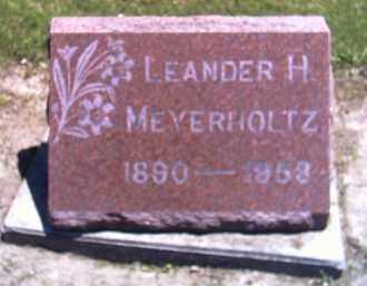 MEYERHOLTZ, LEANDER H. - Shelby County, Ohio | LEANDER H. MEYERHOLTZ - Ohio Gravestone Photos