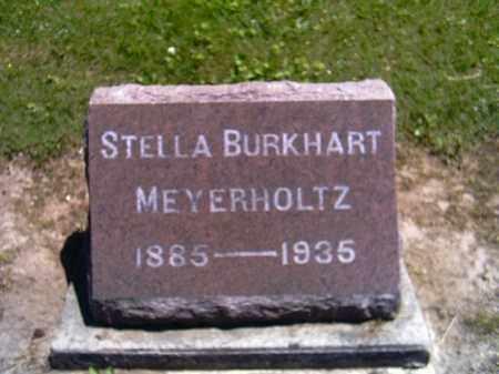BURKHART MEYERHOLTZ, STELLA - Shelby County, Ohio | STELLA BURKHART MEYERHOLTZ - Ohio Gravestone Photos