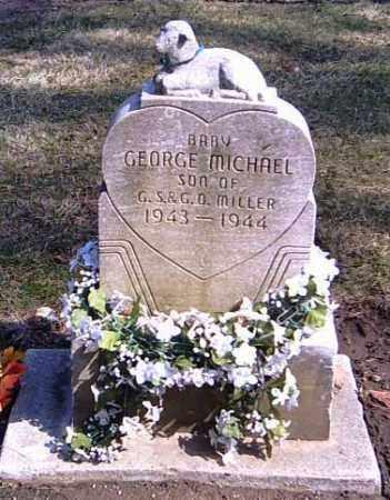 MILLER, GEORGE MICHAEL - Shelby County, Ohio   GEORGE MICHAEL MILLER - Ohio Gravestone Photos