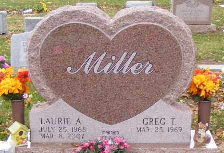 MILLER, LAURIE - Shelby County, Ohio | LAURIE MILLER - Ohio Gravestone Photos