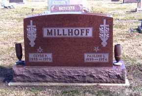 MILLHOFF, CLYDE - Shelby County, Ohio | CLYDE MILLHOFF - Ohio Gravestone Photos
