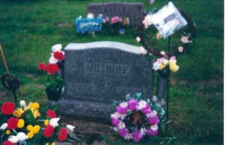 MILLHOFF, JOHN W - Shelby County, Ohio | JOHN W MILLHOFF - Ohio Gravestone Photos