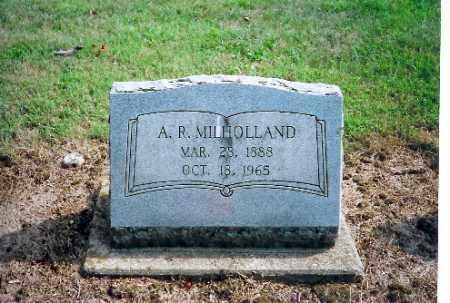MILLHOLLAND, A R - Shelby County, Ohio | A R MILLHOLLAND - Ohio Gravestone Photos