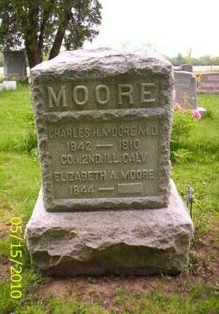 MOORE, ELIZABETH A. - Shelby County, Ohio | ELIZABETH A. MOORE - Ohio Gravestone Photos