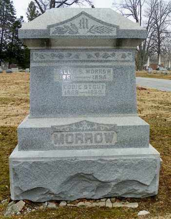 MORROW, SALLIE S. - Shelby County, Ohio | SALLIE S. MORROW - Ohio Gravestone Photos