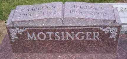 MOTSINGER, CHARLES W. - Shelby County, Ohio | CHARLES W. MOTSINGER - Ohio Gravestone Photos
