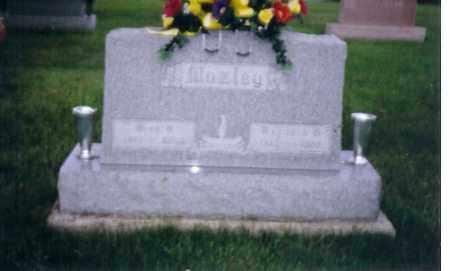 MOZLEY, RAYMOND - Shelby County, Ohio | RAYMOND MOZLEY - Ohio Gravestone Photos