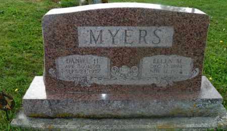 MYERS, ELLEN M. - Shelby County, Ohio | ELLEN M. MYERS - Ohio Gravestone Photos