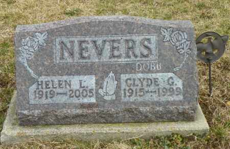 NEVERS, CLYDE G. - Shelby County, Ohio | CLYDE G. NEVERS - Ohio Gravestone Photos