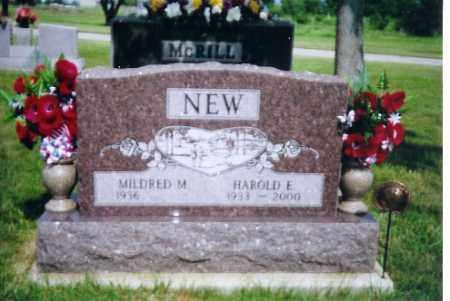 NEW, MILDRED M. - Shelby County, Ohio | MILDRED M. NEW - Ohio Gravestone Photos