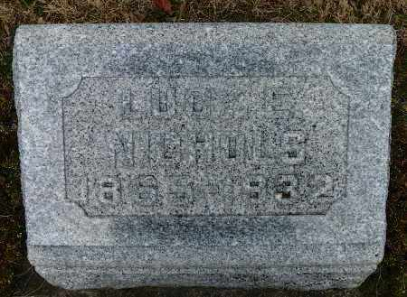 NICHOLS, LUCY E. - Shelby County, Ohio   LUCY E. NICHOLS - Ohio Gravestone Photos