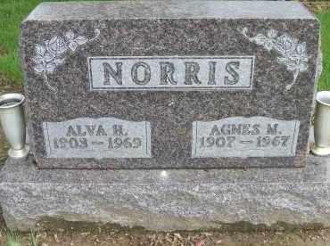 NORRIS, ALVA H. - Shelby County, Ohio | ALVA H. NORRIS - Ohio Gravestone Photos