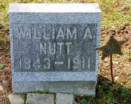NUTT, WILLIAM A. - Shelby County, Ohio | WILLIAM A. NUTT - Ohio Gravestone Photos