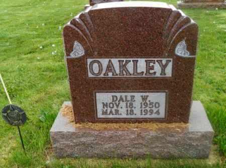 OAKLEY, DALE W. - Shelby County, Ohio   DALE W. OAKLEY - Ohio Gravestone Photos