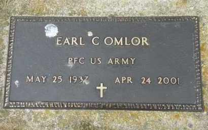 OMLOR, EARL C. - Shelby County, Ohio | EARL C. OMLOR - Ohio Gravestone Photos