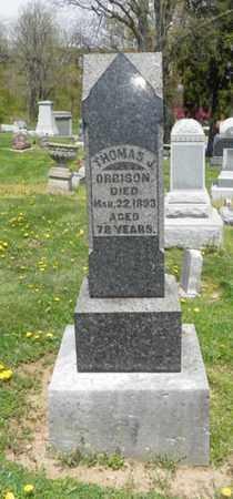 ORBISON, THOMAS J. - Shelby County, Ohio   THOMAS J. ORBISON - Ohio Gravestone Photos