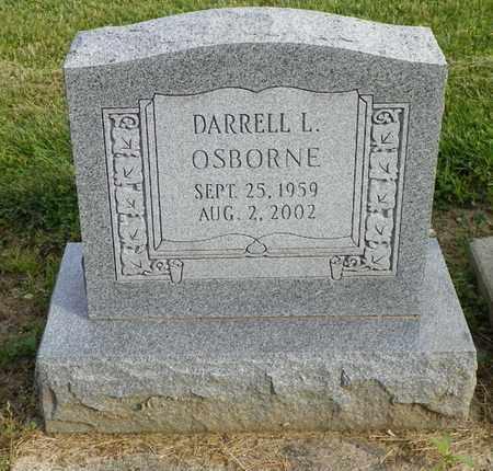 OSBORNE, DARRELL L. - Shelby County, Ohio   DARRELL L. OSBORNE - Ohio Gravestone Photos