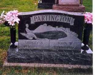 PARTINGTON, JOHN W. - Shelby County, Ohio   JOHN W. PARTINGTON - Ohio Gravestone Photos