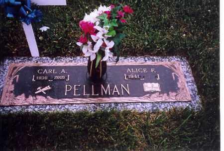 PELLMAN, CARL A. - Shelby County, Ohio | CARL A. PELLMAN - Ohio Gravestone Photos