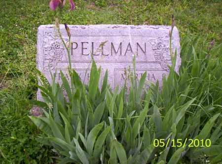 PELLMAN, MARTHA B. - Shelby County, Ohio   MARTHA B. PELLMAN - Ohio Gravestone Photos