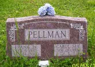 PELLMAN, FRANK JR. - Shelby County, Ohio | FRANK JR. PELLMAN - Ohio Gravestone Photos